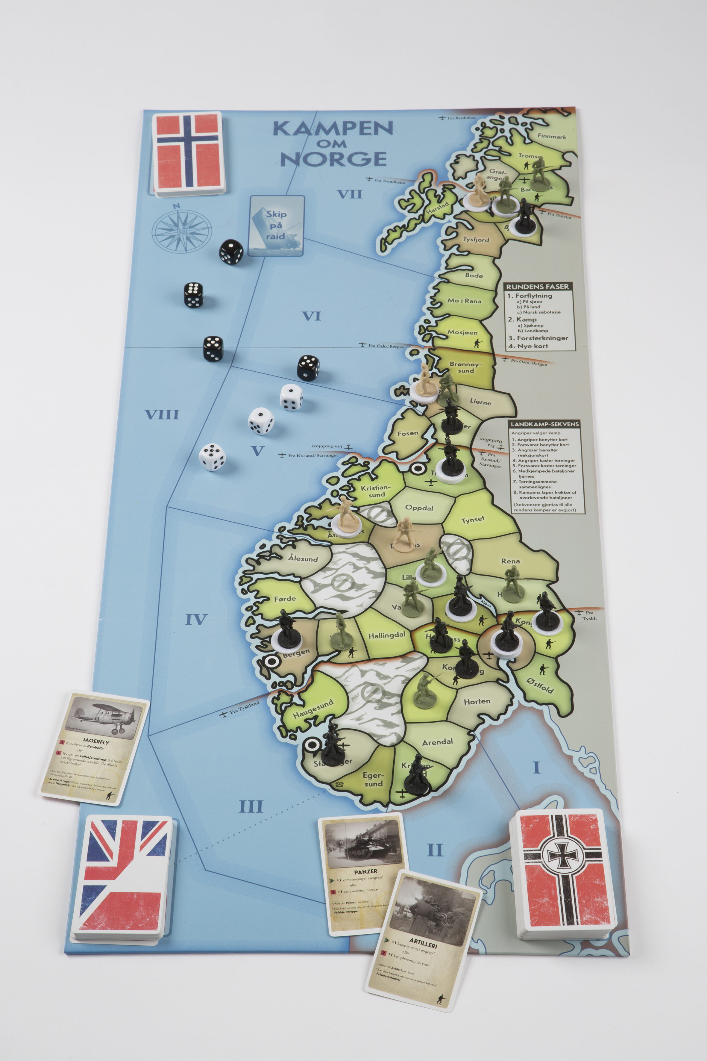 Kampen Om Norge The Battle Of Norway Aegir Games