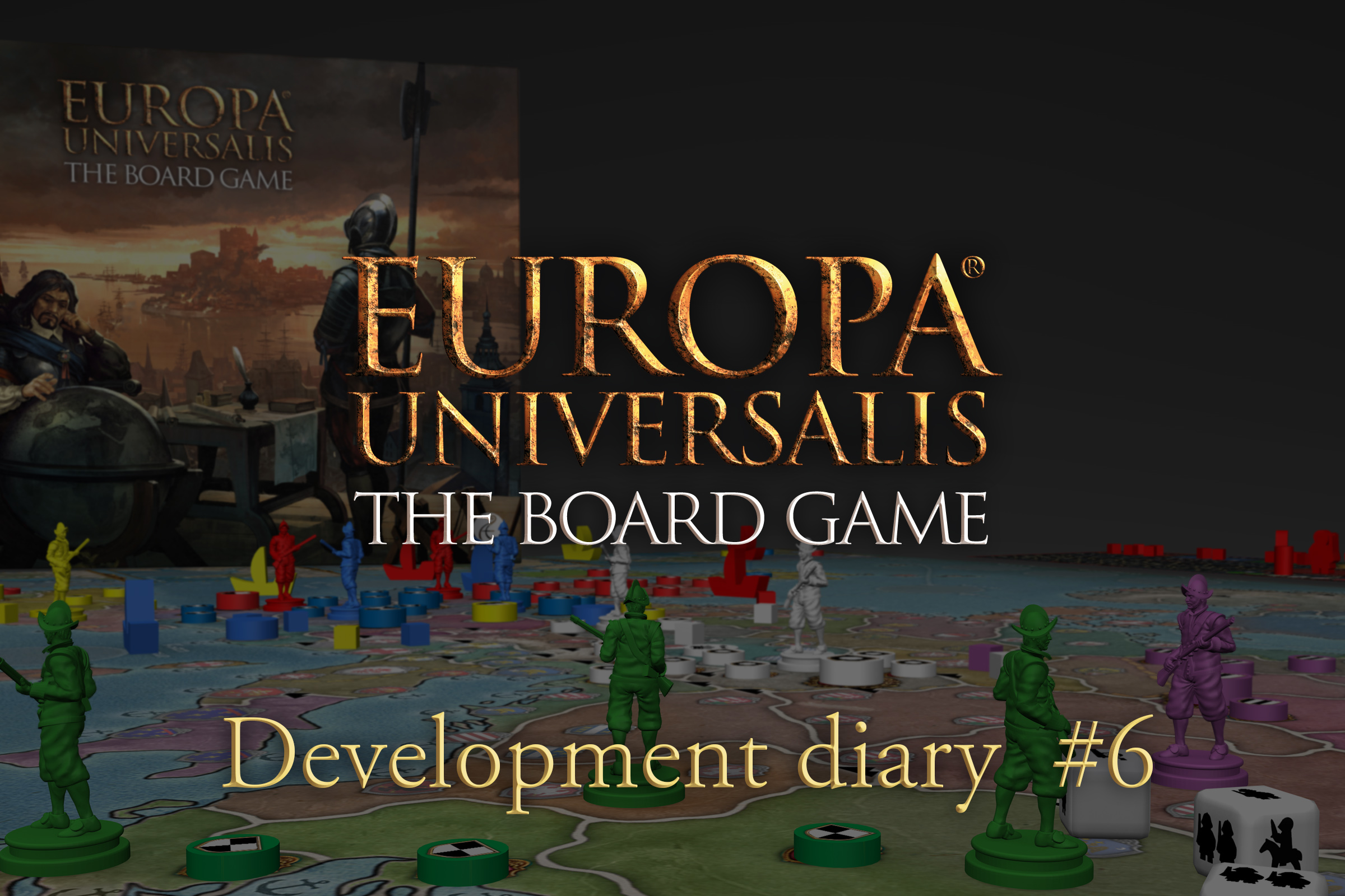 Development Diary #6: Warfare | Europa Universalis: The Board Game